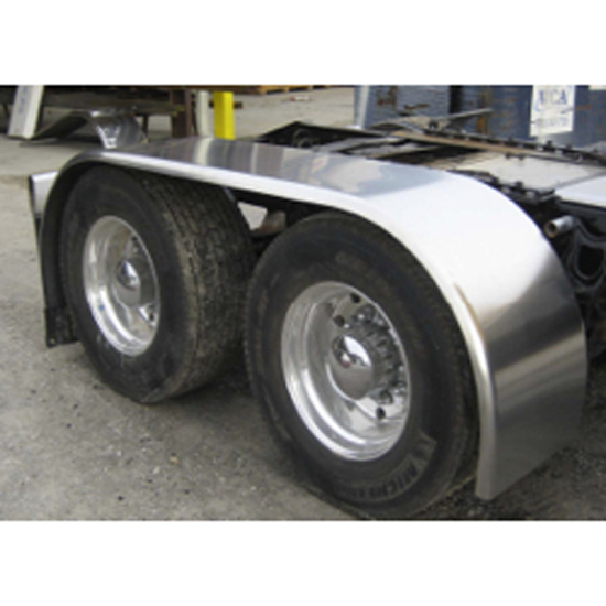 Aluminum Truck Fenders : Aluminum full fender in state trucks