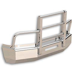 Herd Defender FLT Grille Guard - Slam Latch fits Peterbilt 386