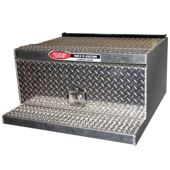 Tool Box 31 Inch New Style Step Diamond Plate For