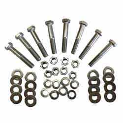 Stainless Steel Bolt Kit For Exhaust Mount Grommets Fits Peterbilts