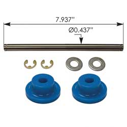 Exhaust Bushing Kit Upper With Sleeve Fits Peterbilt 389 & 388