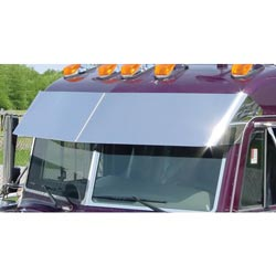 14.5in Blind Mount Drop Visor for Peterbilt UltraCab