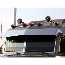 Bowtie Visor Blind Mount For Peterbilt