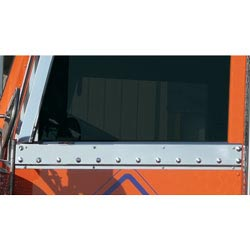 Stainless Steel Upper Door Sill Trim Fits Peterbilt
