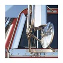 Stainless Steel Window Air Deflectors For Peterbilt Models