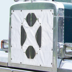 Belmor White X Patch Winter Front Fits Peterbilt 379 127BBC