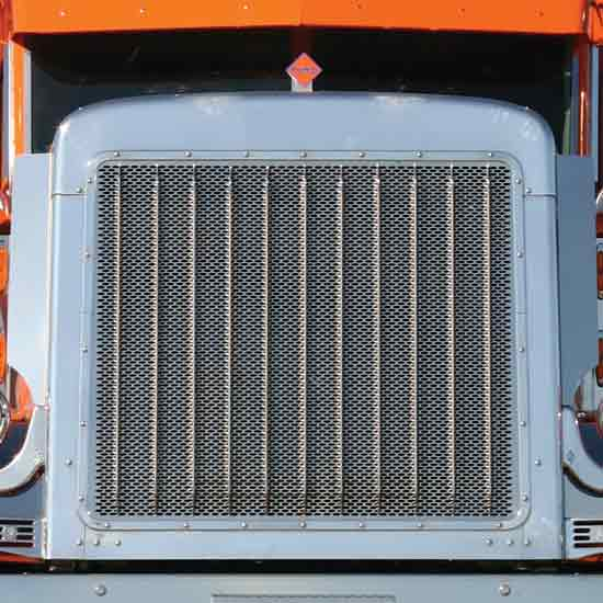 Aftermarket Truck Bumpers >> Stainless Steel Grille Fits Peterbilt - 4 State Trucks