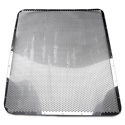 Stainless Custom Punched Grille Insert Fits Peterbilt