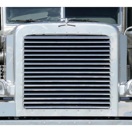 Louvered Grille with 17 Bars for Peterbilt 388/389 - 4 ...
