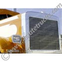 Billet Grille Insert for Peterbilt 379 Extended Hood