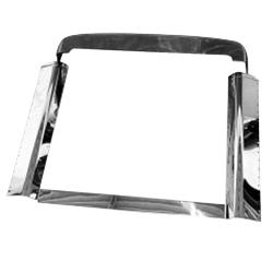 Stainless Steel Grille Surround Fits Peterbilt 375, 376 & 377