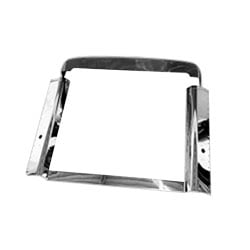 Stainless Steel Grille Surround Kit Fits Peterbilt 379