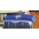 Stainless Steel Bugshield for Peterbilt 386