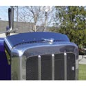 Stainless Steel Bugshield for Peterbilt 389
