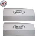 Stainless Steel Fender Shield With Peterbilt Logo Step Mounted Fits Peterbilt 379