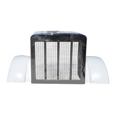 Hood Shell With Grille And Fenders Fits Peterbilt 379