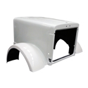 Jones Performance Fiberglass Hood Fits Peterbilt 379 Ext