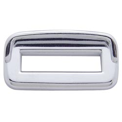Chrome Switch Trim With Visor Fits Peterbilt (Pack Of 6)