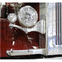 Chrome Criminal Headlight Brackets Fits Peterbilt 378 & 379