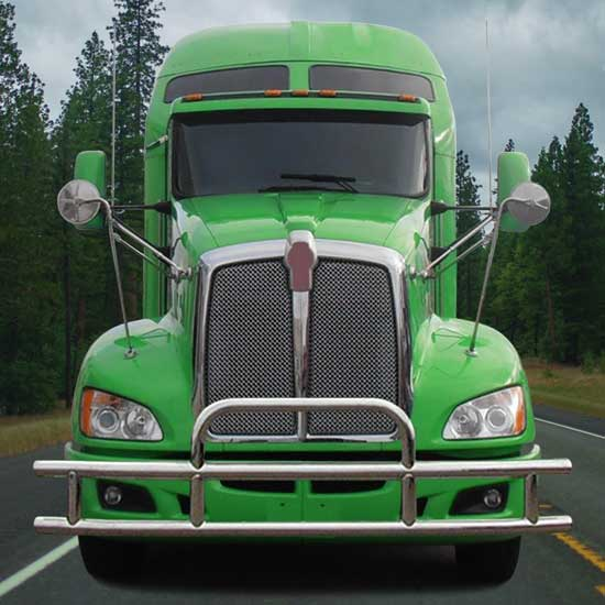 Standard Grille Guard With Mounting Brackets Fits Kenworth T660