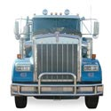 Standard Grille Guard With Mounting Fits Kenworth W900