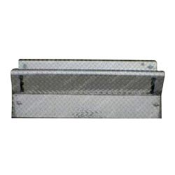 Diamond Plate 45 Inch Battery Box Cover For Kenworth