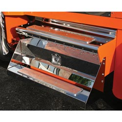 Stainless Steel 40 Inch Tool Box Cover Fits Kenworth