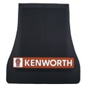Black Rubber Kenworth Logo Mud Flap