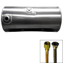 100 Gallon Front Fill Fuel Tank 24.5 Inch X 48 Inch Fits Kenworth T-660, T-800 & T-880