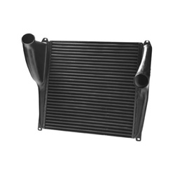 Super Duty Charge Air Cooler Kit 28.25 X 27.687 Inch Fits Kenworth T600, T800 & W900