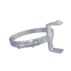 8 Inch Chrome-Plated Stainless Steel Exhaust Mounting Clamp For Kenworth AeroCab