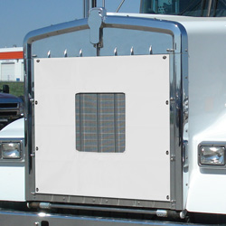 White Center Cutout Winter Front Fits Kenworth W900B/AeroCab
