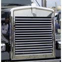 Stainless Steel Custom Grille Insert Fits Kenworth W900L & AeroCab