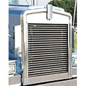 Stainless Custom Python Grille Fits Kenworth W900L