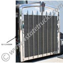 Stainless Steel Grille Side for Kenworth W900L - Passenger