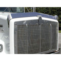 Stainless Steel Bugshield Fits Kenworth T-800 Wide Hood