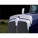 Stainless Steel Bugshield for Kenworth T-660