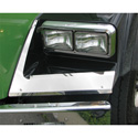 Stainless Steel Fender Shields Fits Kenworth T800