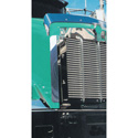 Stainless Steel Side Hood Deflector Fits Kenworth T800