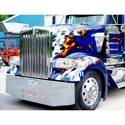 Jones Performance Ram Air Hood Fits Kenworth W900L Metton Rep