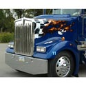 Hood Fits Kenworth W900L-Cowl Induction-Replaces Metton