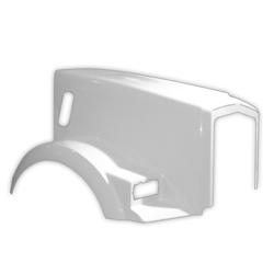 Replacement Hood Aero Metton Fits Kenworth T800