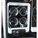 Stainless Steel Gauge Trim Panel Fits Kenworth