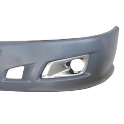 Chrome Plastic Bumper Light Bezel for Kenworth T660 Models 2007 & Newer