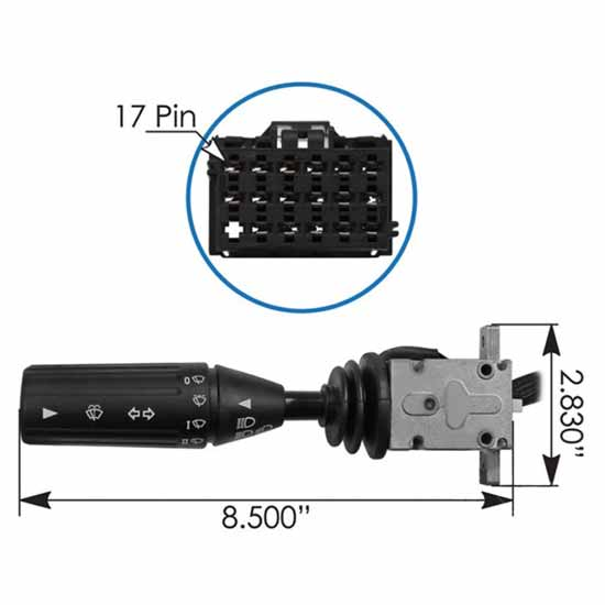 Turn Signal Switch For Kenworth - Replaces 480796