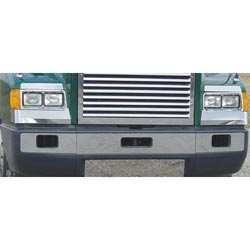 Bumper Trim Kit With Tow & Fog Cutouts Fits Freightliner FLD 112/120 SBA