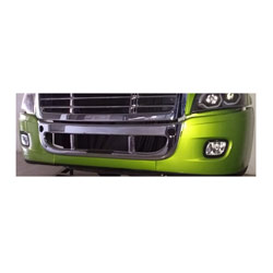 Freightliner Cascadia Chrome Overlay For Bumper Center Cover