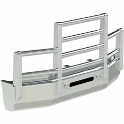 Herd Aero 4 Post Grille Guard Fits Freightliner Cascadia 2008-20108