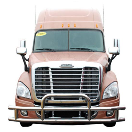 Freightliner Bumper Accessories : Freightliner cascadia tuff guard grille bumper