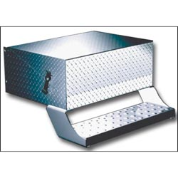 Diamond Plate Lid 43 inch Battery Box fits Freightliner